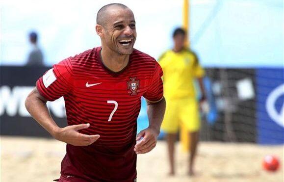 Resultado de imagem para Portugal bate Bielorússia por 3-1 em futebol de praia e vence troféu