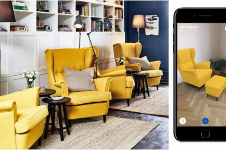 Tecnologia ikea nova app permite ver como a mob lia - Comprar en ikea desde casa ...