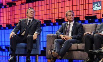 Durão Barroso vaiado na Web Summit Image