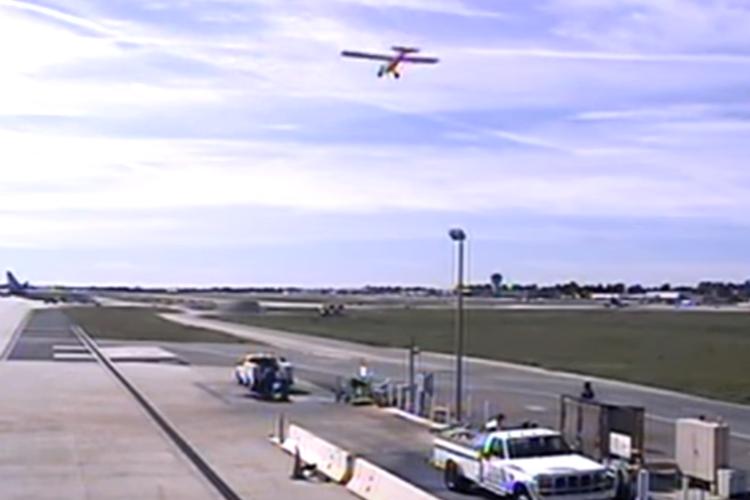 Aeroporto Viseu : Eua aeroporto divulga vídeo da aterragem perigosa de