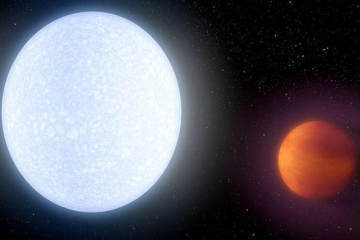 Resultado de imagem para Descoberto planeta mais quente do que maioria das estrelas