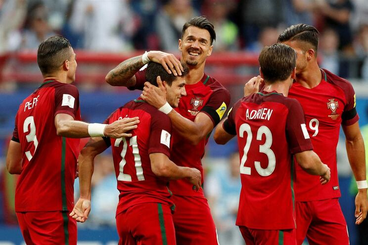 Resultado de imagem para Portugal e México empatam na Taça das Confederações