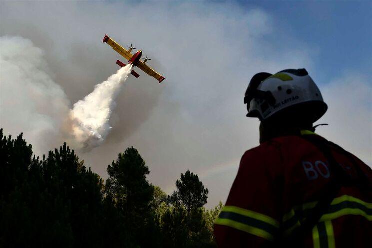 Fogos mais preocupantes em Castelo Branco, Guarda e Viseu Image
