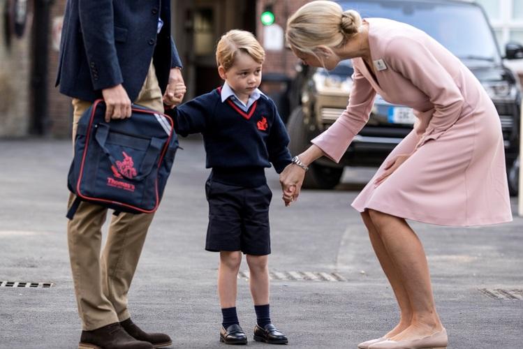 O filho mais velho do príncipe William e de Kate