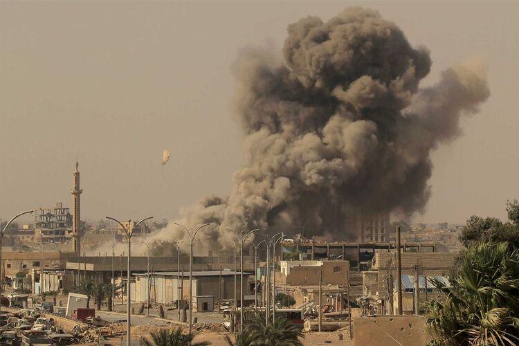 O ataque aéreo israelita desta quinta-feira no centro da Síria