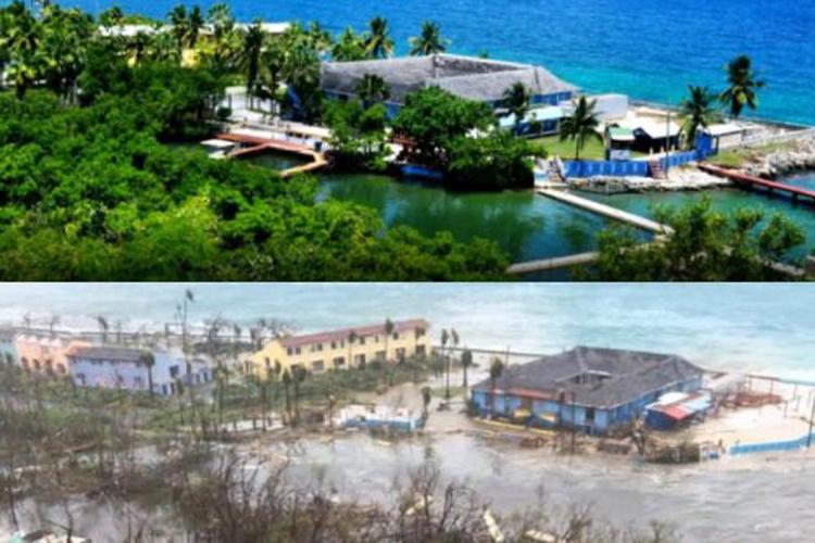 A ilha de Saint-Martin foi das mais afetadas pelo furacão