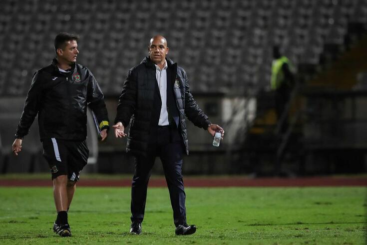 Pepa, treinador do Tondela.