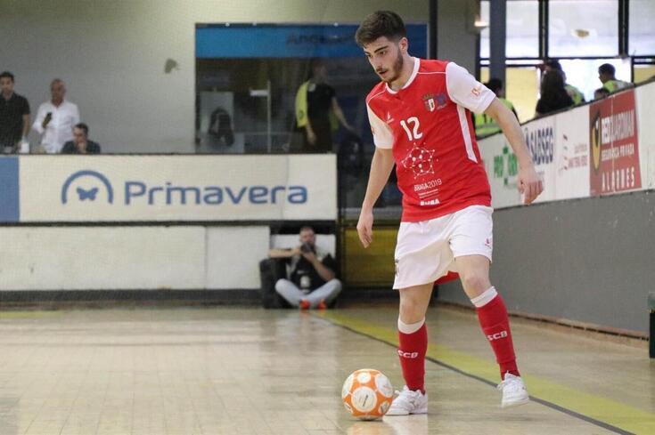 Braga/AAUM empresta Tiago Correia ao Candoso