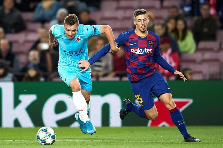 Clément Lenglet está a cumprir a segunda época ao serviço do Barcelona