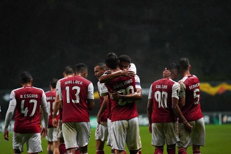 Braga está a um ponto da próxima fase da Liga Europa