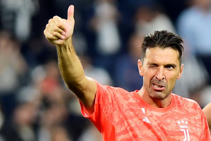 Buffon deixou elogios a Ronaldo