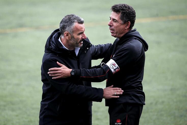 Rui Santos deixou o comando técnico do Sintra Football