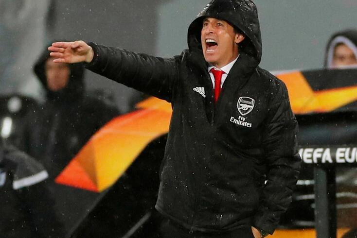 Unai Emery, treinador do Arsenal