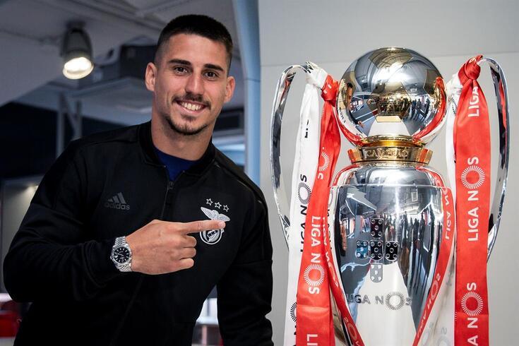Gabriel, jogador do Benfica