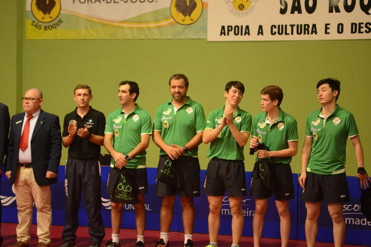 São Roque eliminado pelo CSS Szak na Taça Europa de ténis de mesa