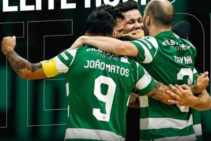 Sporting garantiu o primeiro lugar do grupo