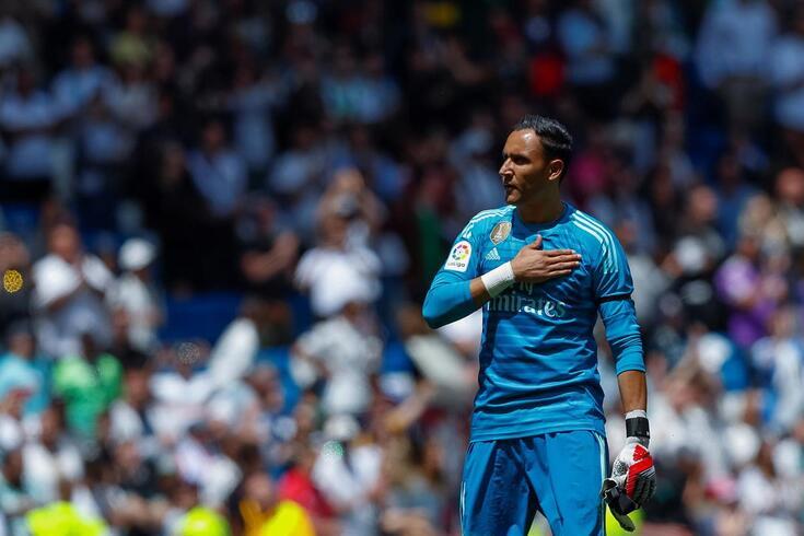 Keylor Navas, guarda-redes do Real Madrid