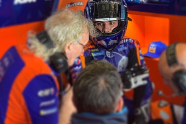 Miguel Oliveira experimentou novas peças na KTM