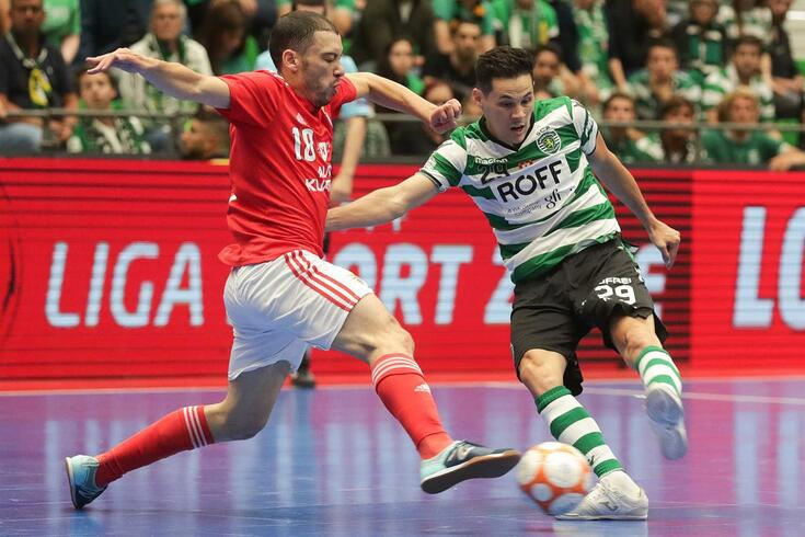 DIRETO FUTSAL | Benfica-Sporting