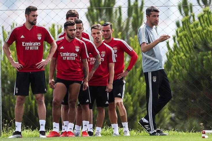 Benfica voltou a treinar no Seixal
