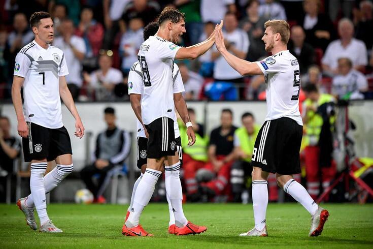 Alemanha bateu Estónia