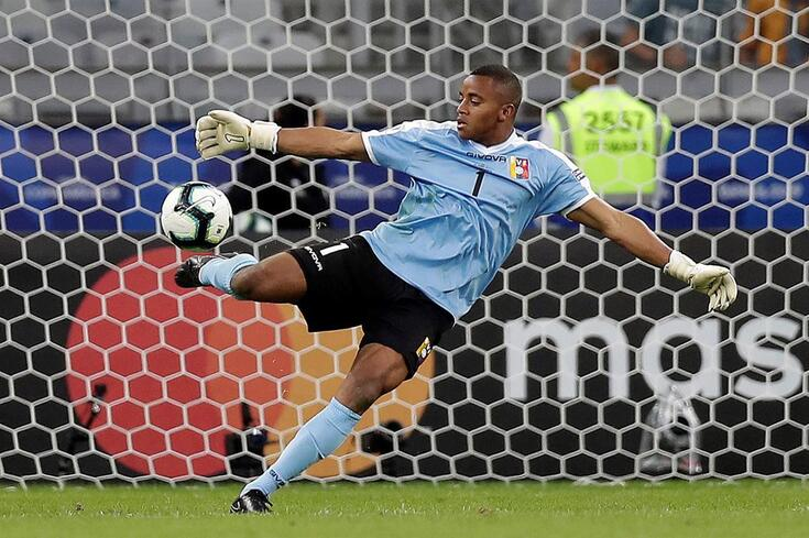 Fariñez ajudou a Venezuela a chegar aos quartos de final da Copa América