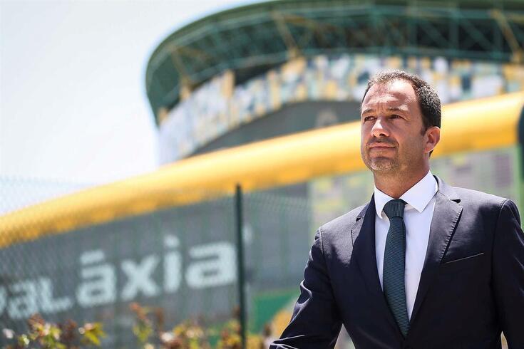 Frederico Varandas, presidente do Sporting.