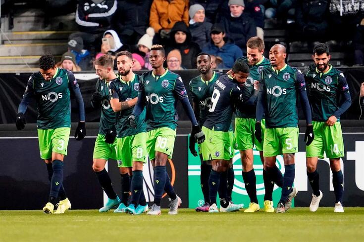 Sporting segue firme na Liga Europa