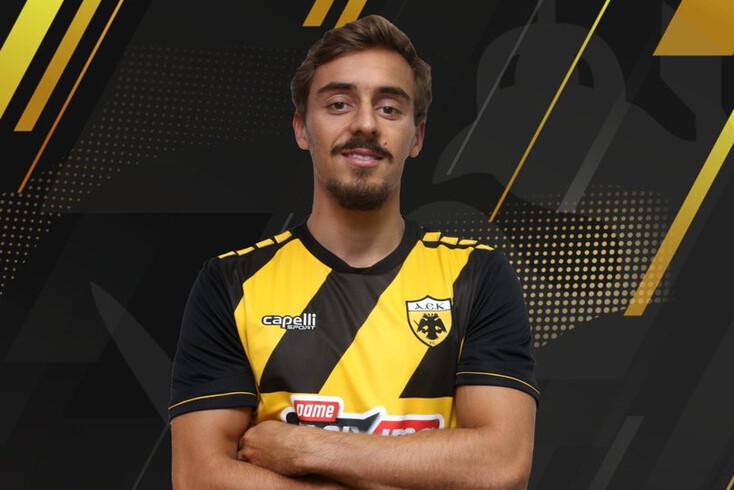 Francisco Geraldes já é jogador do AEK
