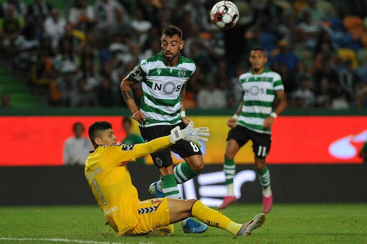 Bruno Fernandes, médio do Sporting
