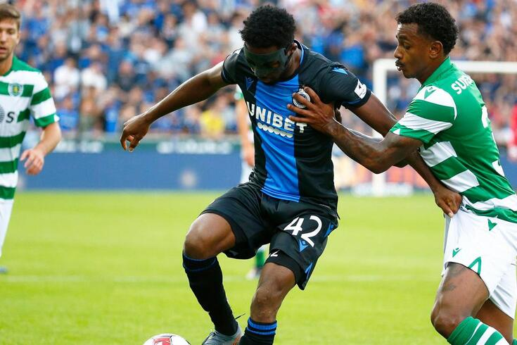 DIRETO | Club Brugge-Sporting