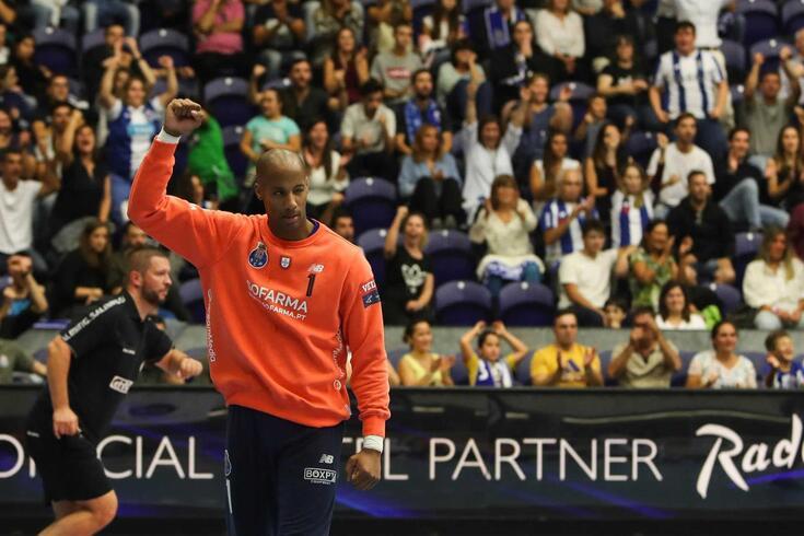 Quintana, guarda-redes do FC Porto