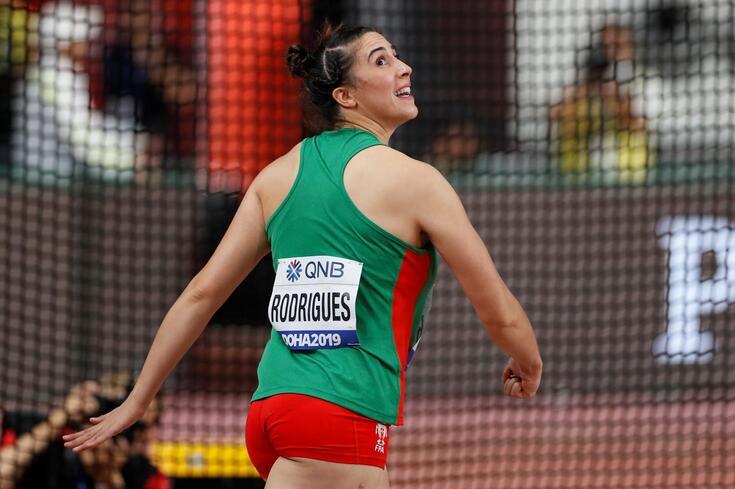 Irina Rodrigues eliminada no lançamento do disco nos Mundiais