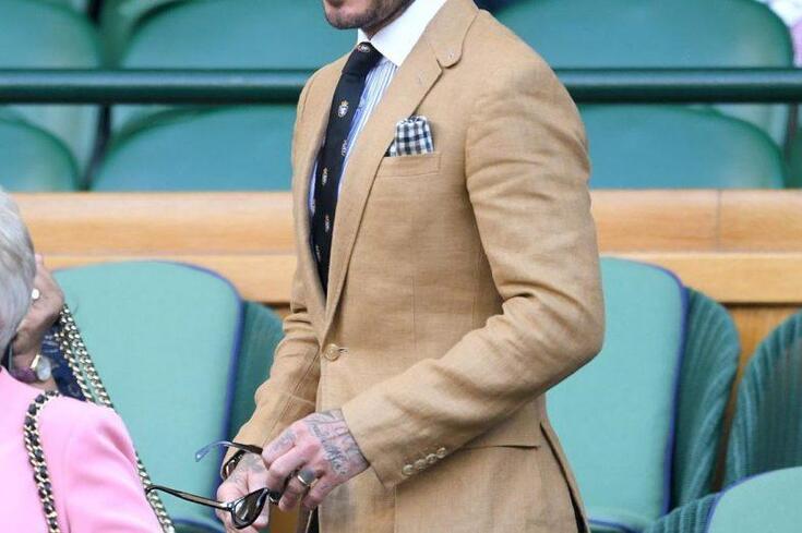 David Beckham voltou a dar uma lição de como vestir bem