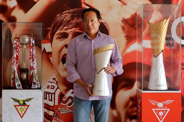 Wei Zhao, presidente da SAD do Aves, em entrevista exclusiva a O JOGO
