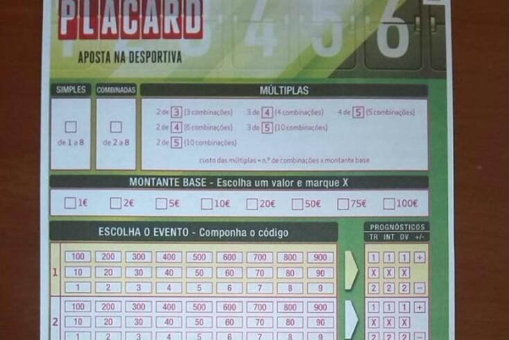 Como fazer apostas placard