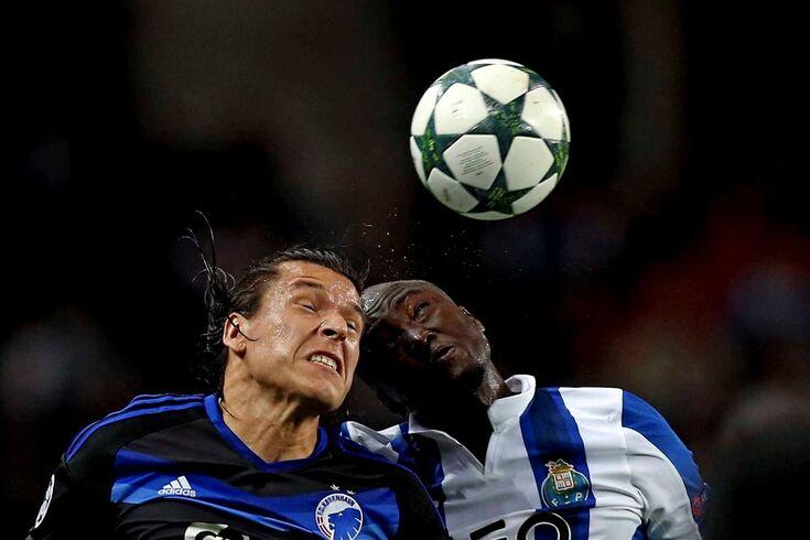 8fc0879348 O FC Porto empatou em casa 1-1 com o Copenhaga na primeira jornada da fase  de grupos da Liga dos Campeões