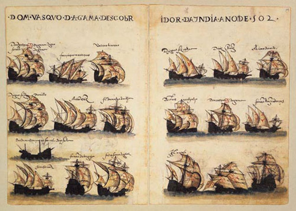 Vasco da Gama's Fleet Discovered