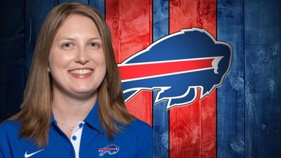 Buffalo Bills contrata mulher como assistente e faz história na NFL
