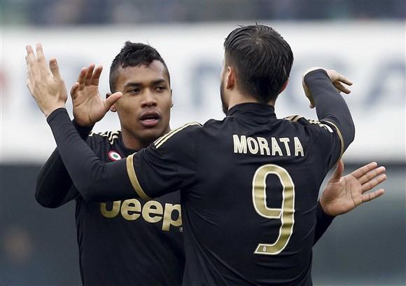Juventus goleia o Chievo e assume liderança provisória do Italiano