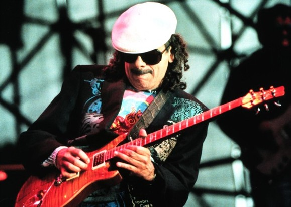 A guitarra de Santana de regresso a Portugal