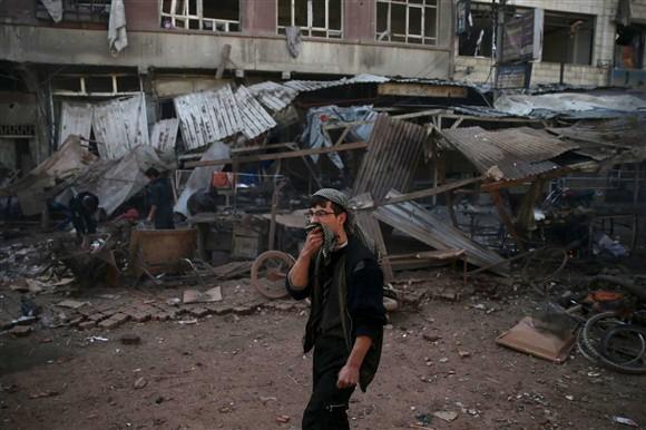 Mais de 60 civis morreram na cidade de Alepo, centenas de feridos