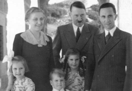 Mulher do ministro nazista Goebbels era filha de judeu, diz historiador