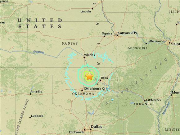 Terremoto de magnitude 5,4 atinge os EUA