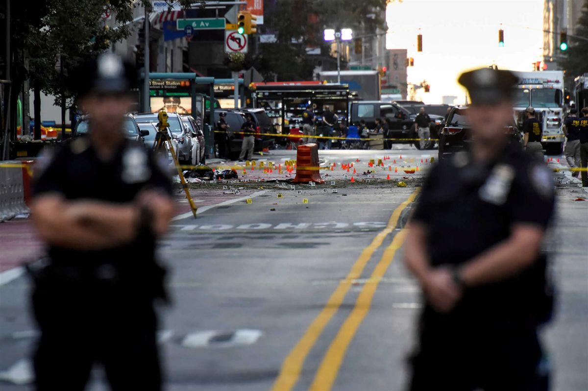 Explosão deixa feridos em Nova York