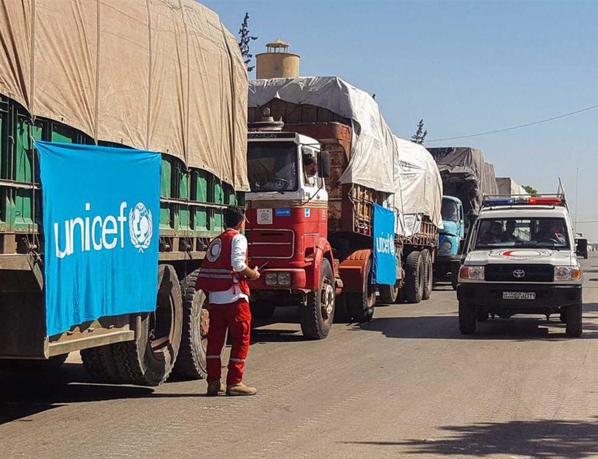 Resultado de imagem para camioes ONU