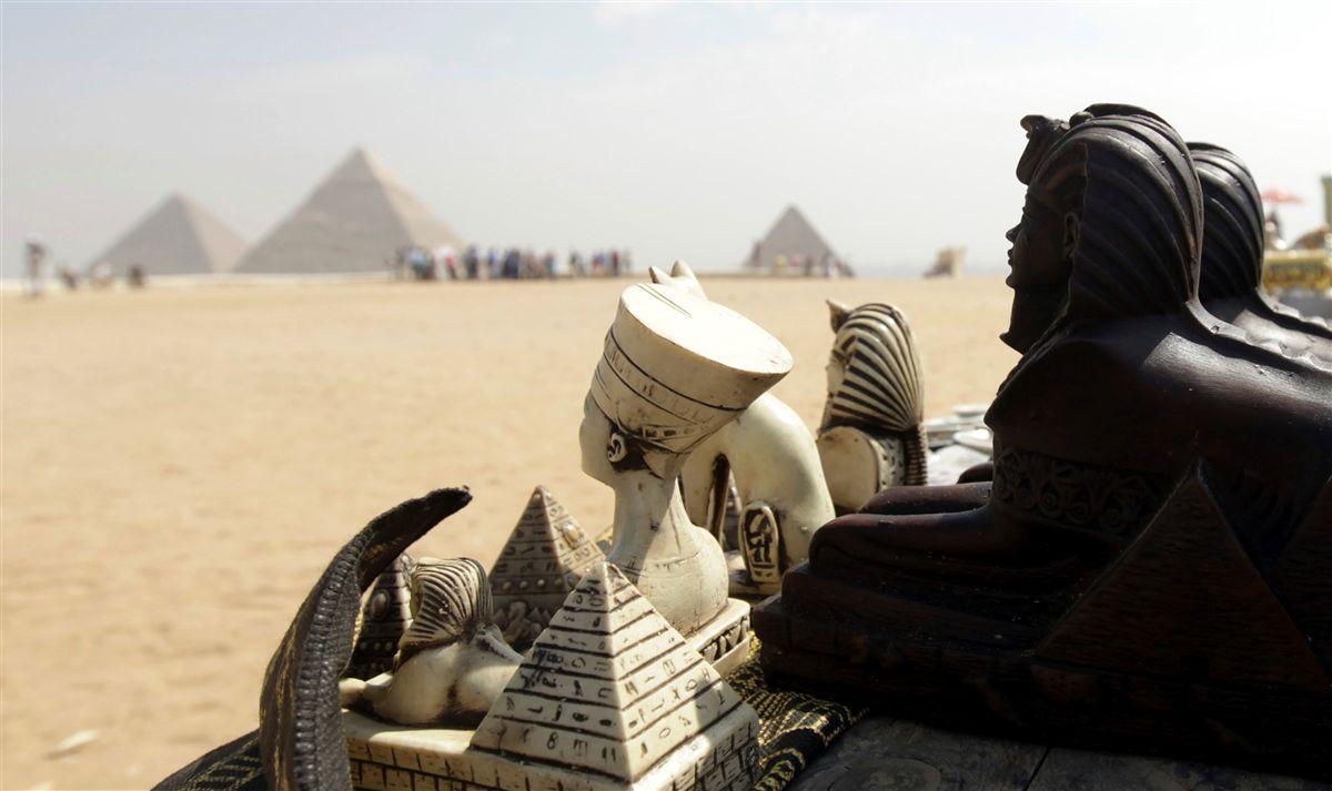 Descoberta cidade antiga no Egito