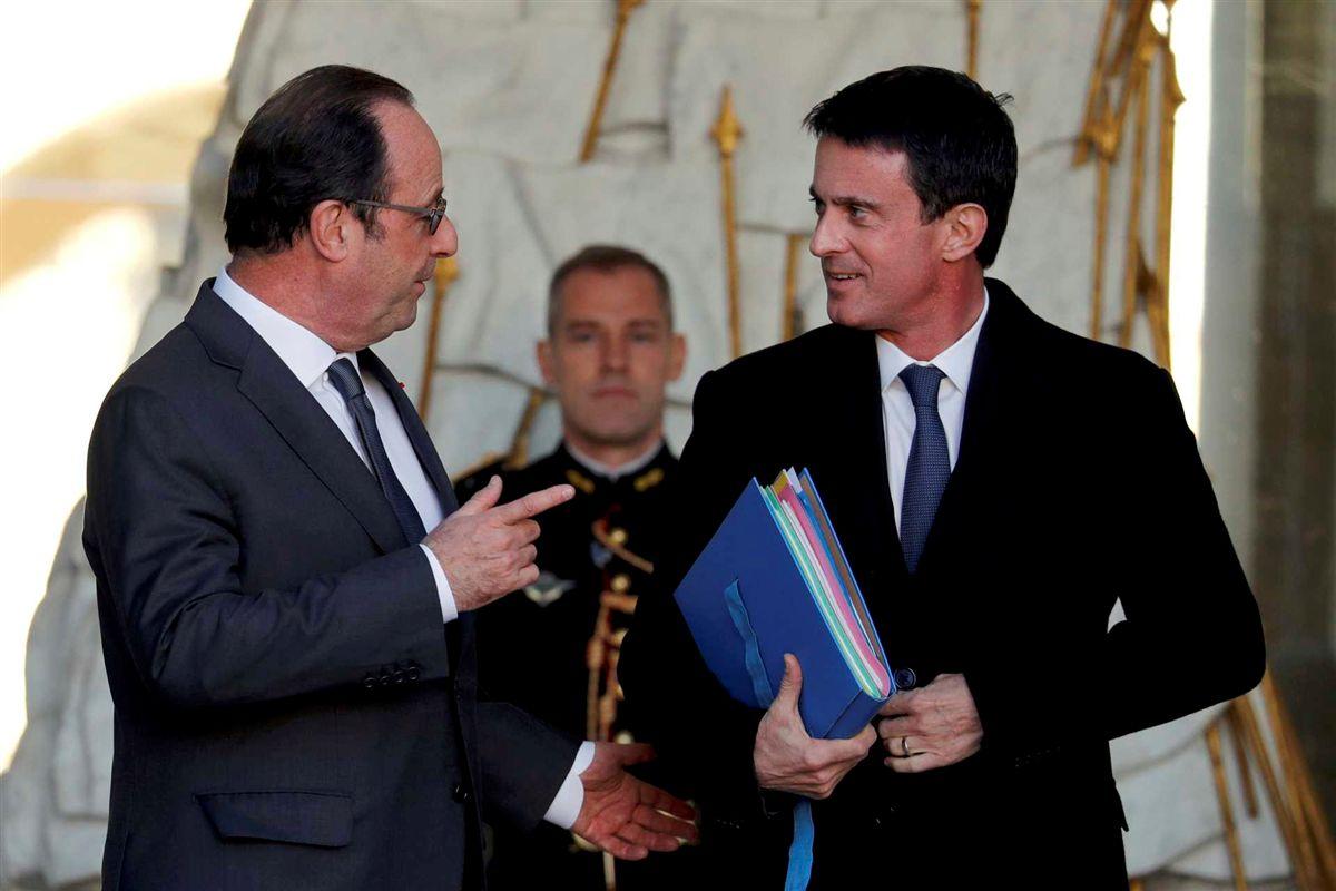Hollande desiste de tentar reeleição — França
