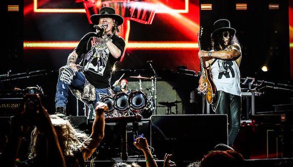 Guns N' Roses confirmados em Portugal em 2017