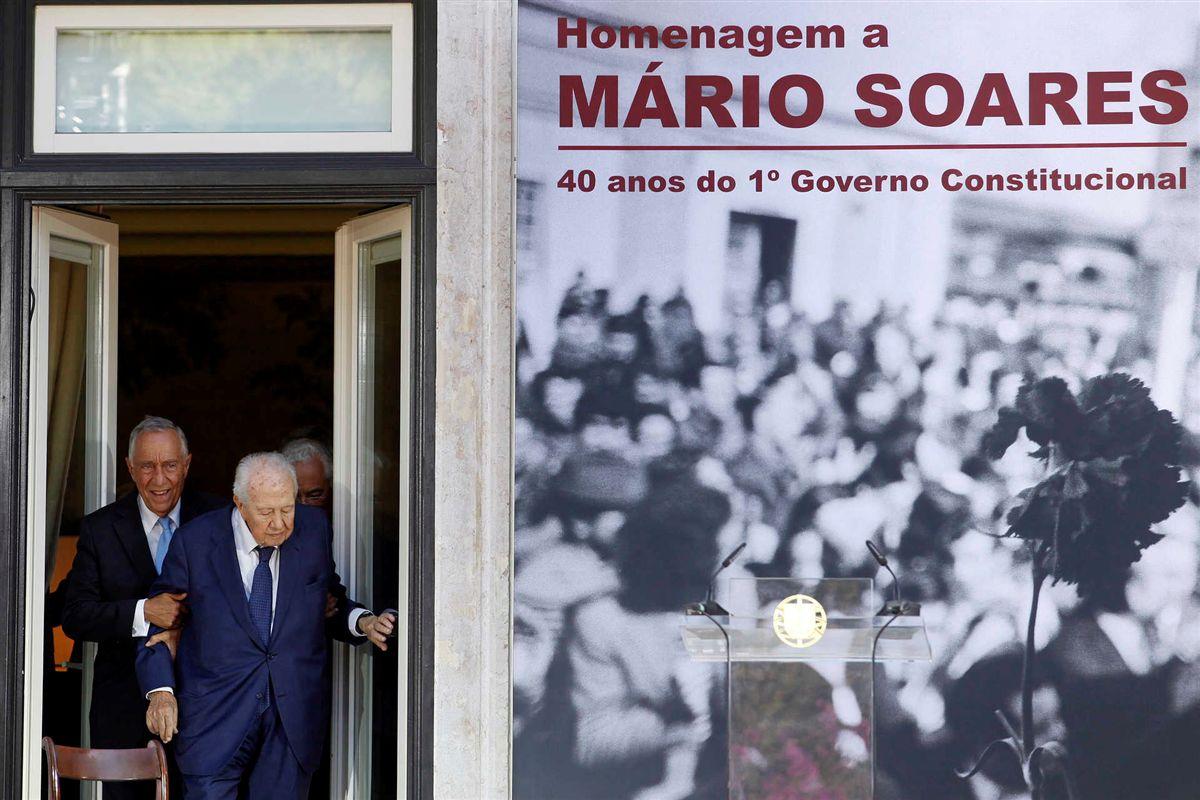 Eduardo Barroso diz que Mário Soares